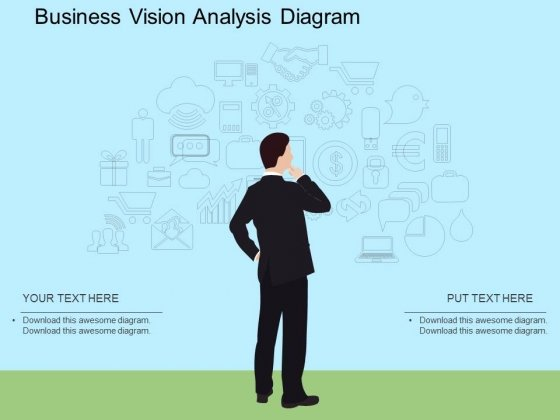 Business Vision Analysis Diagram Powerpoint Template