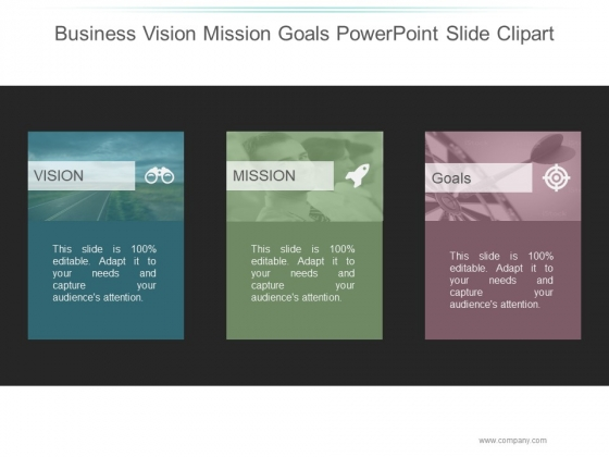 Business Vision Mission Goals Ppt PowerPoint Presentation Templates