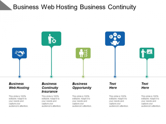 Business Web Hosting Business Continuity Insurance Business Opportunity Ppt PowerPoint Presentation Outline Picture