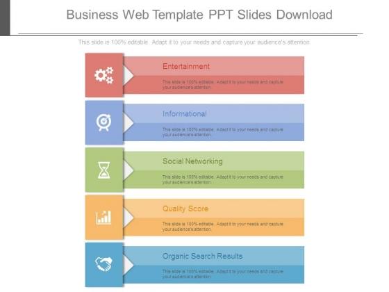 Business Web Template Ppt Slides Download