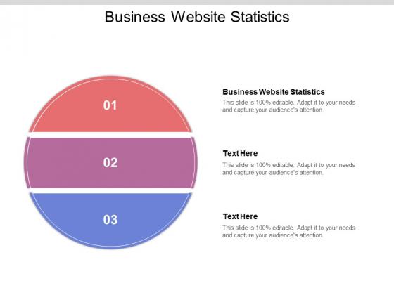 Business Website Statistics Ppt PowerPoint Presentation Model Deck Cpb Pdf