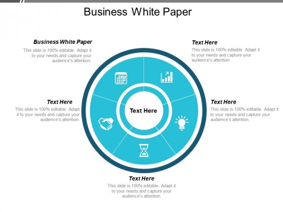 Business White Paper Ppt PowerPoint Presentation Gallery Guidelines Cpb