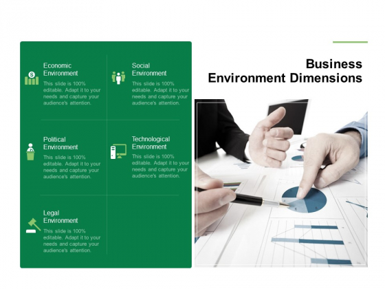 Business Working Condition Business Environment Dimensions Ppt Infographic Template File Formats PDF