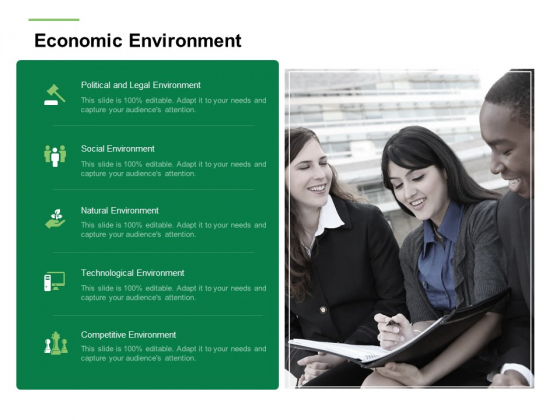 Business Working Condition Economic Environment Ppt Outline Templates PDF