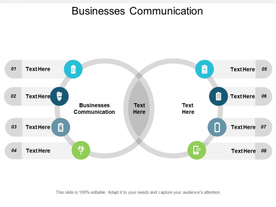 Businesses Communication Ppt Powerpoint Presentation Inspiration Example Cpb