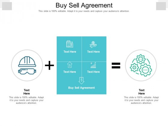 Buy Sell Agreement Ppt PowerPoint Presentation Inspiration Demonstration Cpb Pdf