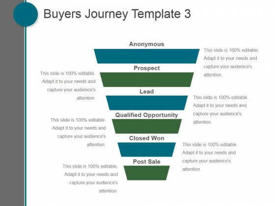 Buyers Journey Template 3 Ppt PowerPoint Presentation Picture