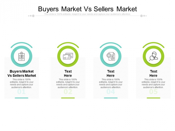 Buyers Market Vs Sellers Market Ppt PowerPoint Presentation Pictures Graphics Cpb