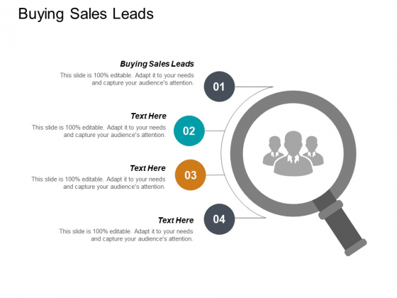Buying Sales Leads Ppt PowerPoint Presentation Summary Diagrams Cpb
