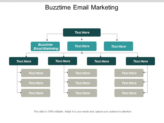 Buzztime Email Marketing Ppt Powerpoint Presentation Show Microsoft Cpb