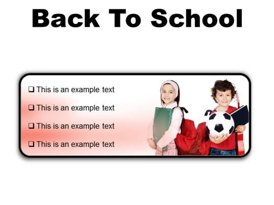 Back To School Education PowerPoint Presentation Slides R