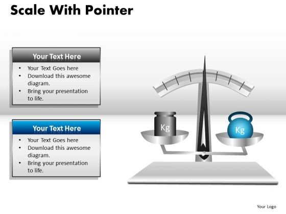Balance Scale PowerPoint Graphics Slides