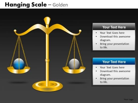 Balance Scale PowerPoint Slides