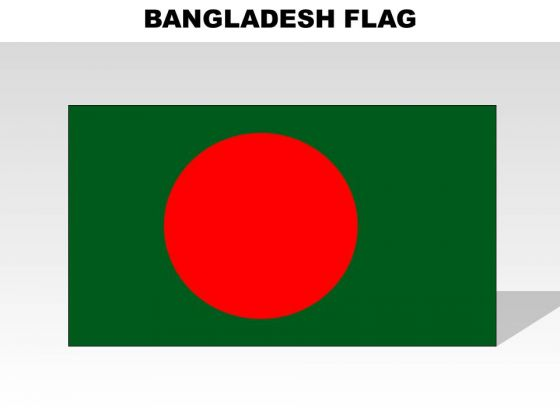 Bangladesh Country PowerPoint Flags