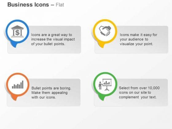 Bank Bar Graph Business Deal Result Analysis Ppt Slides Graphics
