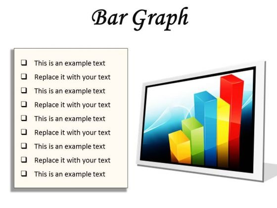 Bar Graph Business PowerPoint Presentation Slides F