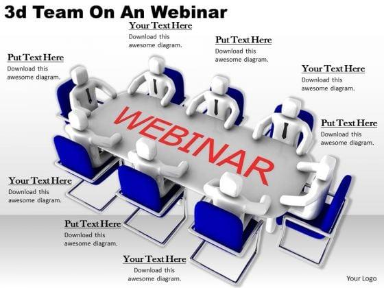 Basic Marketing Concepts 3d Team An Webinar Business
