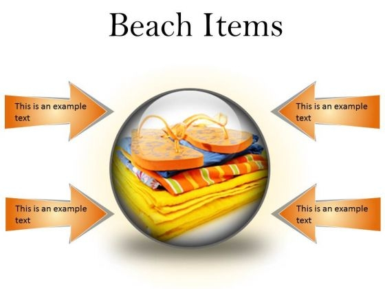 Beach Items01 Holidays PowerPoint Presentation Slides C