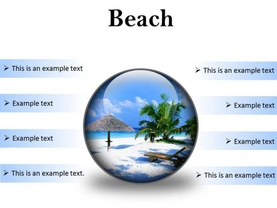 Beach Vacation PowerPoint Presentation Slides C
