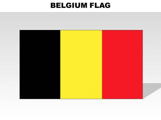 Belgium Country PowerPoint Flags