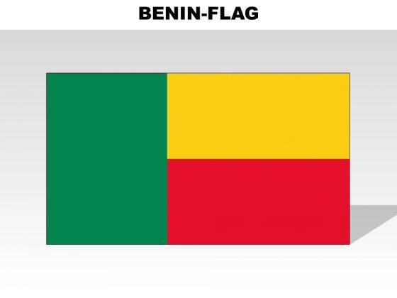 Benin Country PowerPoint Flags