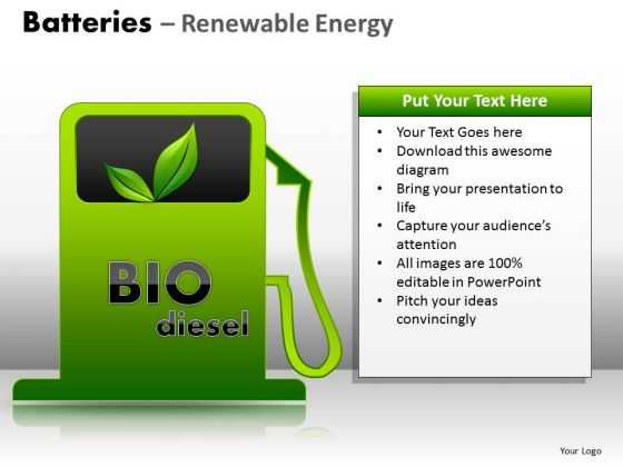 Bio Diesel Fuel PowerPoint Ppt Templates