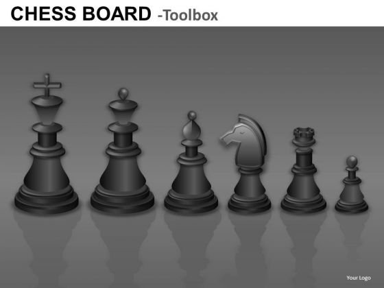 Black Chess Pieces Graphics