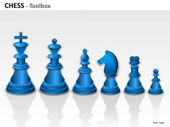 Blue Chess PowerPoint Slides And Ppt Diagram Templates