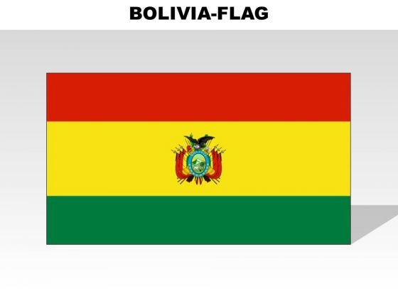 Bolivia Country PowerPoint Flags