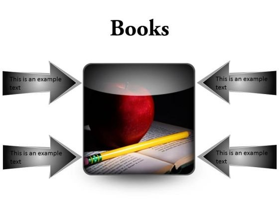 Books Education PowerPoint Presentation Slides S