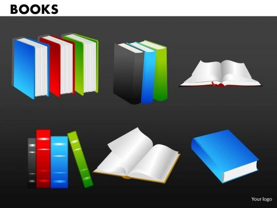 Books Graphics PowerPoint Ppt Templates