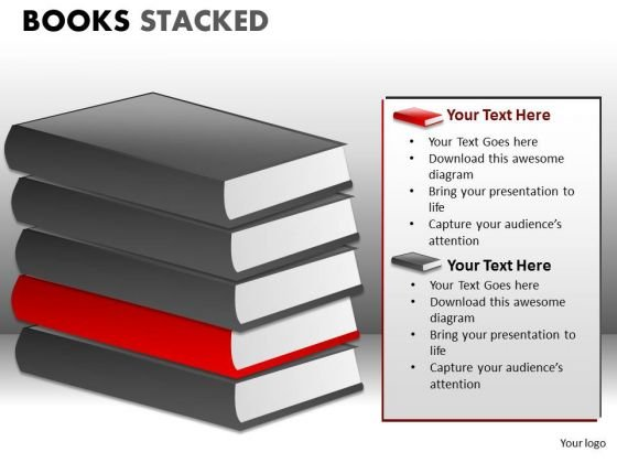 Books PowerPoint Graphics Clipart Images