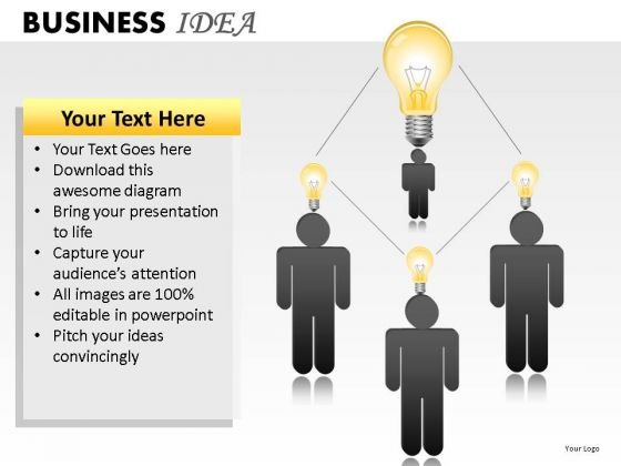 Brainstorming Business Idea PowerPoint Slides And Ppt Diagram Templates