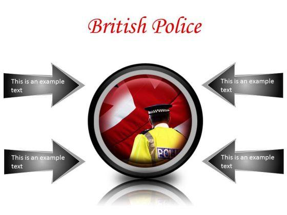 British Police Americana PowerPoint Presentation Slides Cc
