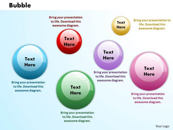 Bubbles PowerPoint Presentation Template 1