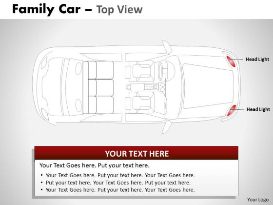 Buggy Red Family Car PowerPoint Slides And Ppt Diagram Templates