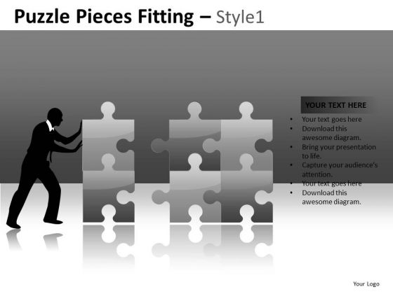 Building Solutions Puzzles PowerPoint Slides And Editable Ppt Templates