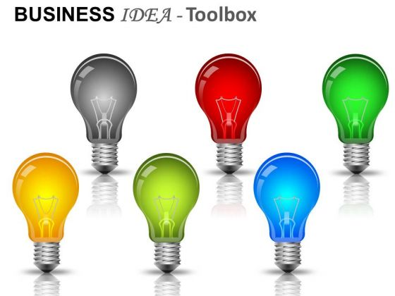 Bulbs Business Idea PowerPoint Slides And Ppt Diagram Templates