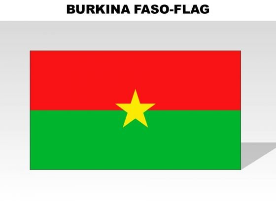 Burkina Faso Country PowerPoint Flags
