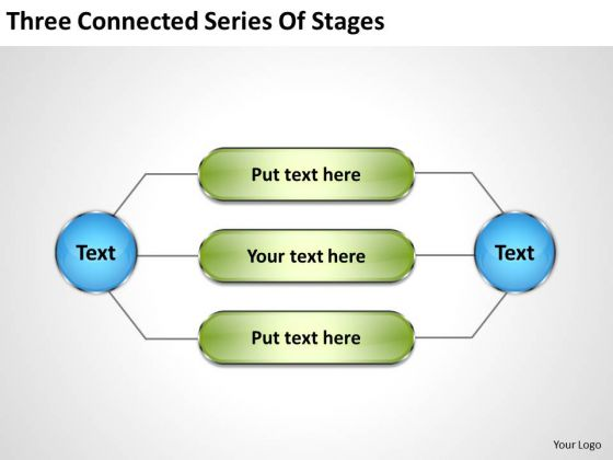 Business Activity Diagram Series Of Stages PowerPoint Templates Backgrounds For Slides