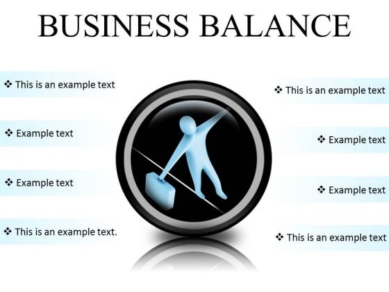 Business Balance Success PowerPoint Presentation Slides Cc