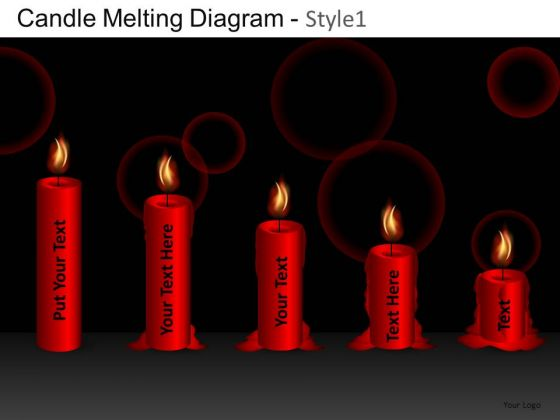 Business Candle Melting Diagram 1 PowerPoint Slides And Ppt Diagram Templates