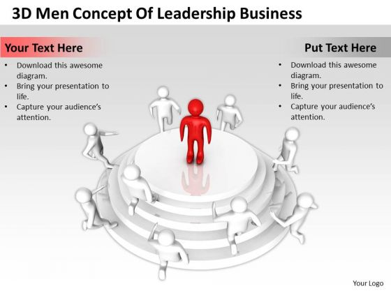 Business Charts Examples Of Leadership PowerPoint Presentations Templates