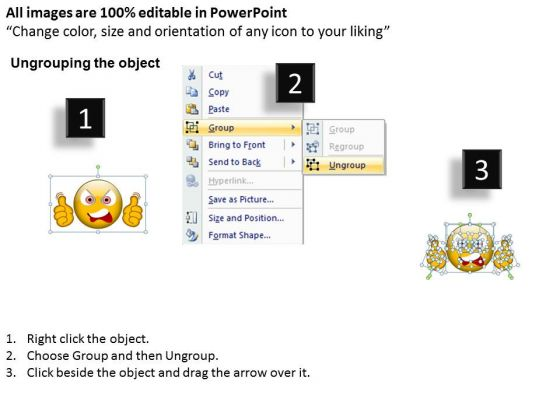 business_charts_powerpoint_templates_angry_expression_smiley_2