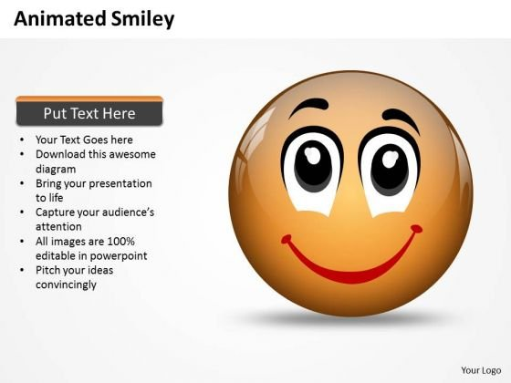 Business Charts PowerPoint Templates Animated Smiley Face Express Great Emotion