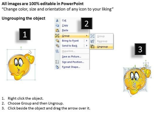 business_charts_powerpoint_templates_shiney_emoticon_thinking_face_sales_2