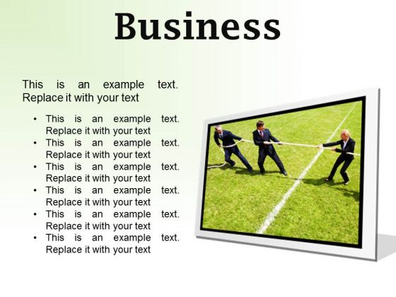 Business Competition PowerPoint Presentation Slides F
