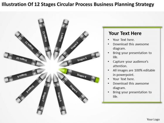 Business Concept Diagram Planning Strategy PowerPoint Templates Backgrounds For Slide