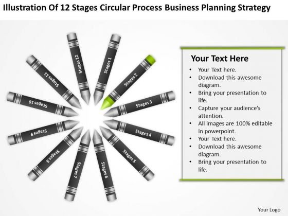 Business Concept Diagram Planning Strategy PowerPoint Templates Backgrounds For Slides