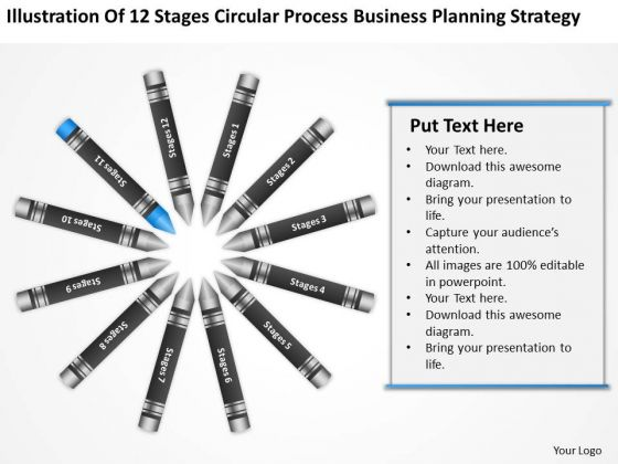 Business Concept Diagram Planning Strategy Ppt PowerPoint Templates For Slides